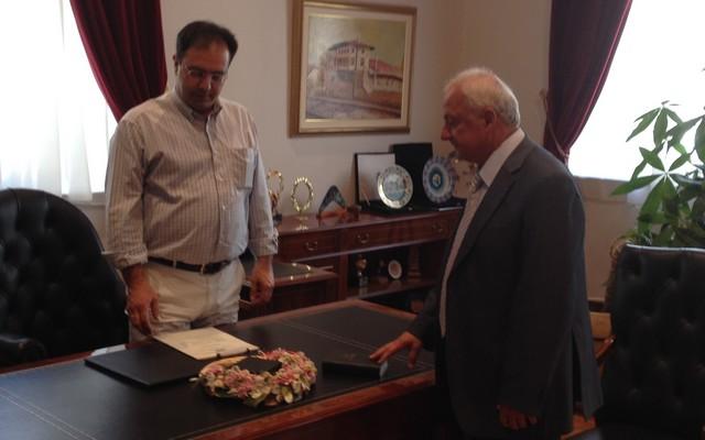 Ορκίστηκε ο Αρχηγός της Αξιωματικής Αντιπολίτευσης ο Κ. Καραπαναγιωτίδης